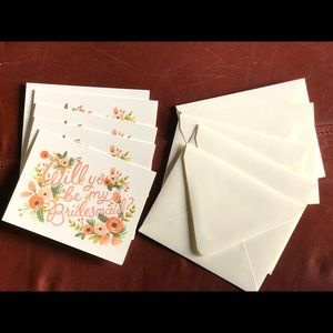 """Rifle & Co """"Will You Be My Bridesmaid"""" Cards"""
